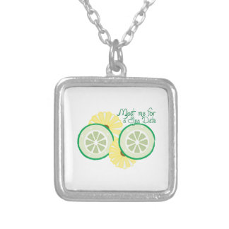 Meet for a Spa Date Personalized Necklace