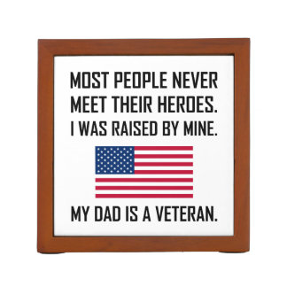 Meet Heroes My Dad A Veteran Desk Organiser