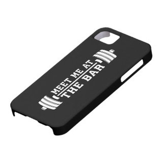 Meet Me At The Bar - Barbell - Workout Barely There iPhone 5 Case