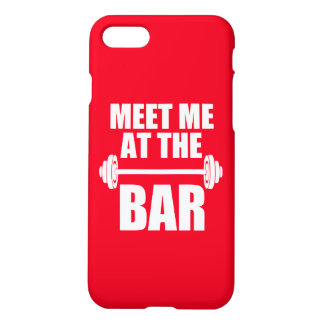 Meet me at the bar funny phone case Gym