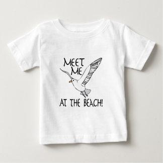 Meet Me At The Beach! Tee Shirts