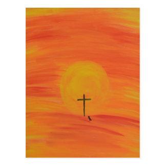 Meet Me At The Cross Postcard