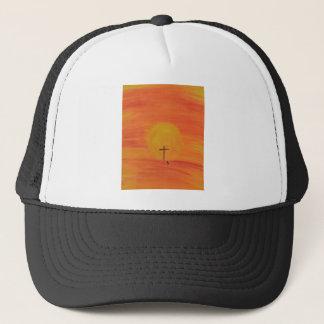 Meet Me At The Cross Trucker Hat