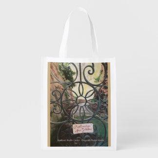 Meet me in the Garden Reusable Grocery Bag