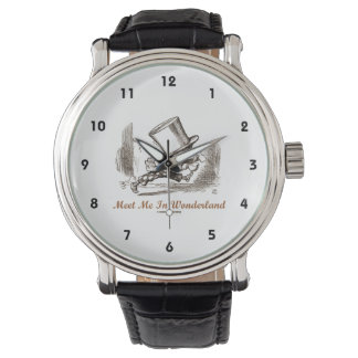 Meet Me In Wonderland Mad Hatter Running Watch