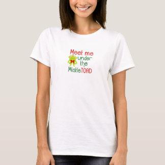 Meet Me Under the Mistletoad Women's T-shirt