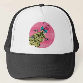 Meet Me Under the Mistletoe Trucker Hat