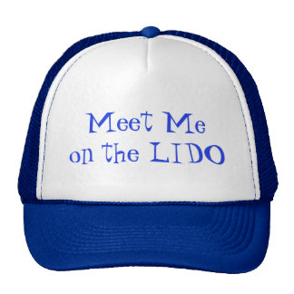 Meet on Lido Trucker Hat