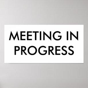 meeting in progress gifts on zazzle au