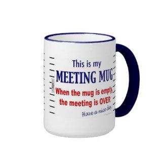 Meeting Mug Funny Office Humour Coffee Mug