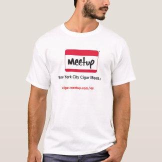 MeetupLogo, New York City Cigar Meetup, cigar.m... T-Shirt