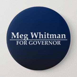 Meg Whitman for Governor 10 Cm Round Badge