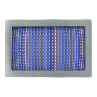 Mega Bright Colorful Purple Geometric Design Belt Buckles