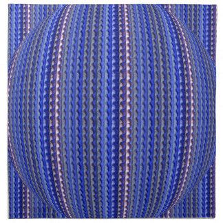Mega Bright Colorful Purple Geometric Design Napkin