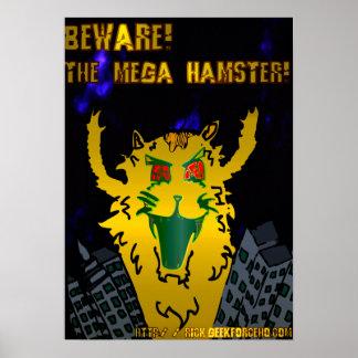 Mega Hamster Poster