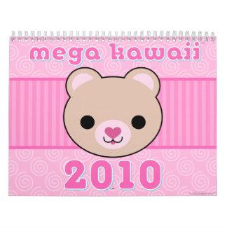 Mega Kawaii 2010 Calendar