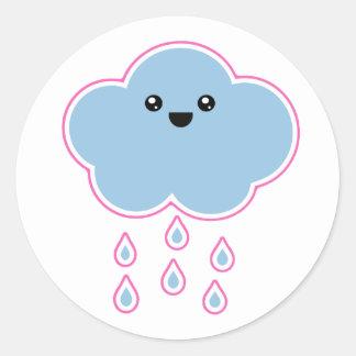 Mega Kawaii Cloud Drizzle Sticker