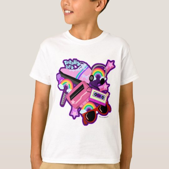 Mega Neon 80s Design T Shirt