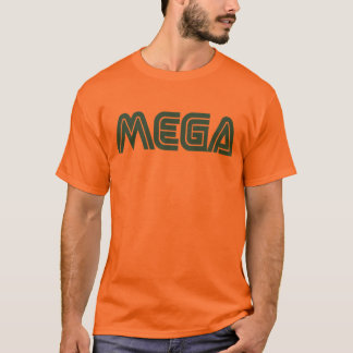 Mega - Orange T-Shirt
