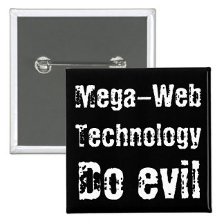 Mega-Web Technology 15 Cm Square Badge