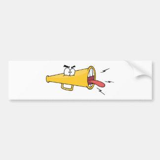 Megafon Cartoon Character Bumper Sticker