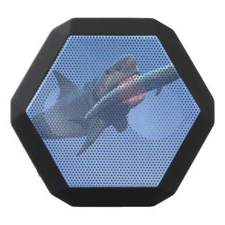 Megalodon eating a whale black bluetooth speaker
