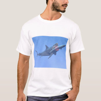 Megalodon eating a whale T-Shirt
