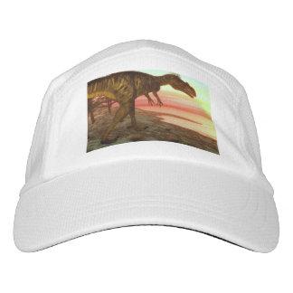 Megalosaurus dinosaur walking toward the ocean hat