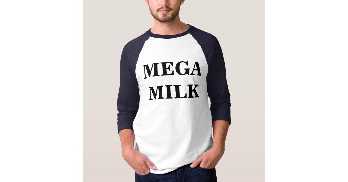 megamilk t shirt zazzle com au