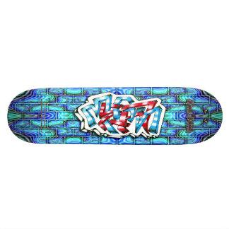 Megan 03 ~ Custom Graffiti Art Pro Skateboard