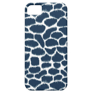 Megan Adams Animal Print Ikat Navy iPhone 5 Cover