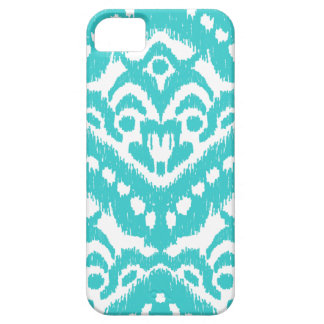 Megan Adams Zig Zag Ikat- Turquoise iPhone 5 Case