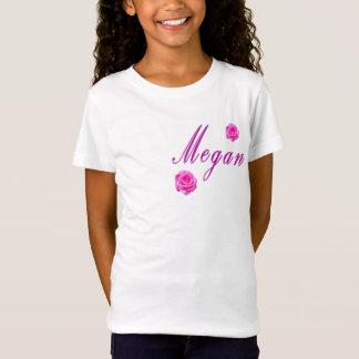 Megan Girls Name Logo, T-Shirt