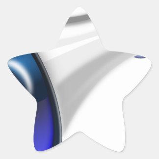 megaphone-1578-trjmp star sticker