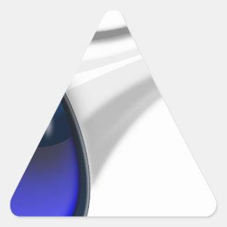 megaphone-1578-trjmp triangle sticker