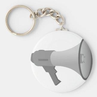 Megaphone Key Ring
