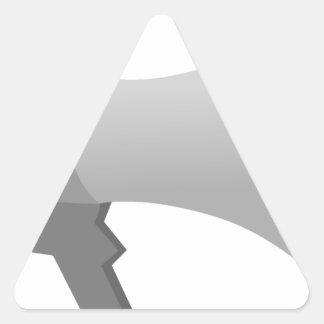 Megaphone Triangle Sticker