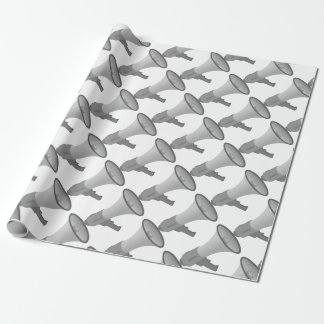 Megaphone Wrapping Paper