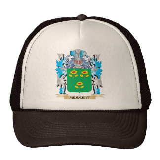 Meggett Coat of Arms - Family Crest Trucker Hats