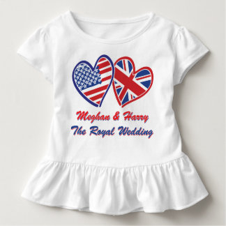 Meghan and Harry Toddler T-Shirt