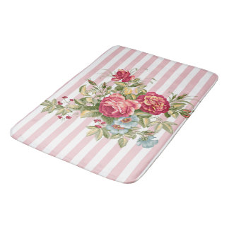 Meghan Cottage Chic Bathroom Mat