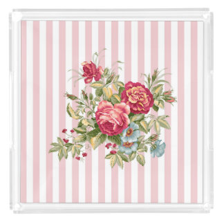 Meghan Cottage Chic Square Vanity Tray