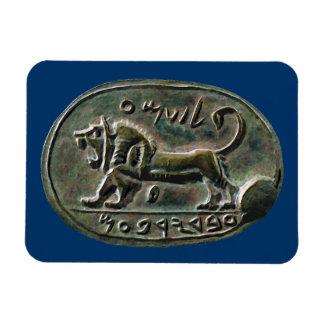 Megiddo Seal Vinyl Magnet