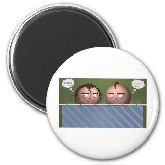 MEGUSTA.jpg 6 Cm Round Magnet