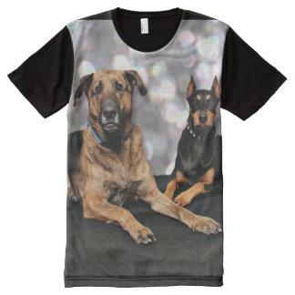 Megyan Doberman - Berkeley Mastiff X All-Over Print T-Shirt