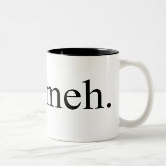meh  $17.95 Two Toned Coffee Mug
