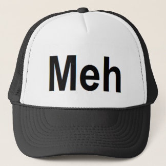 Meh Apparel Trucker Hat