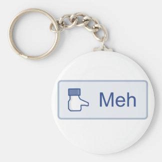 Meh - Facebook Keychain
