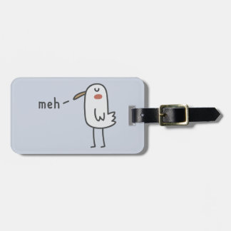 Meh Luggage Tag