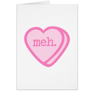 Meh Valentine Card